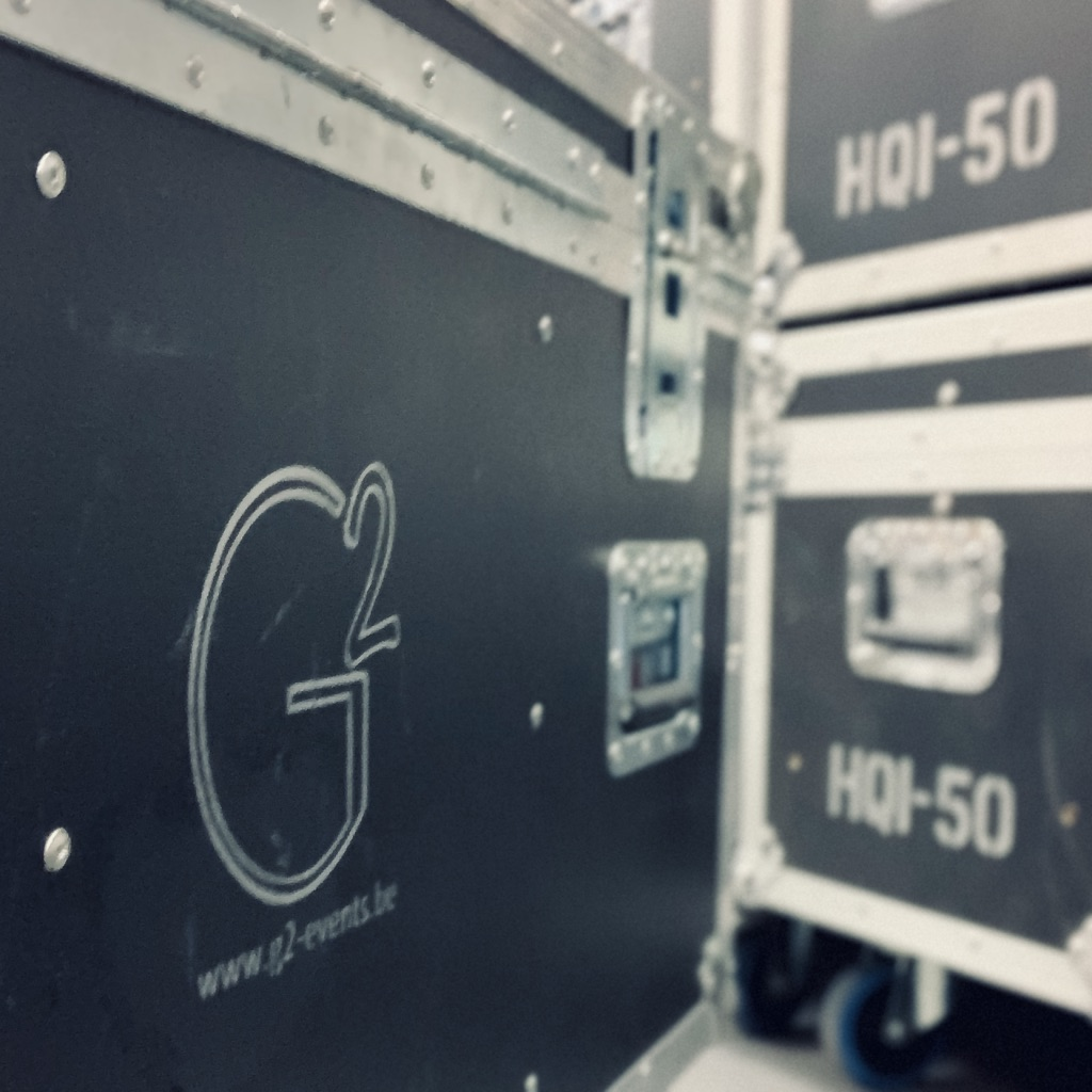 G2 Events SPRL - Audiovisuel - Fly case, lumiere, light, clay pack, axcor, son, d&B, laccoustic, console, chamsys, corporate, vente,...